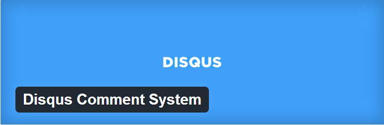 إضافة Disqus Comment System للووردبريس