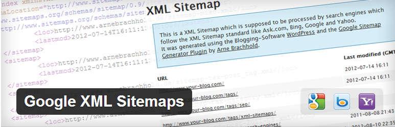 إضافة Google XML Sitemap للووردبريس