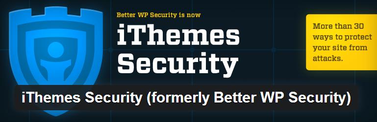 إضافة iThemes Security للووردبريس